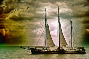 Sailing Freighter