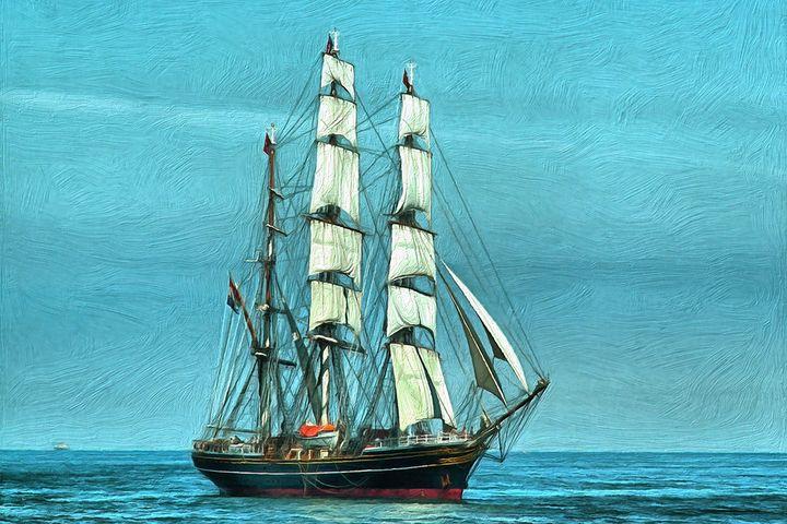 Sailing Ship - Joseph Wall Art