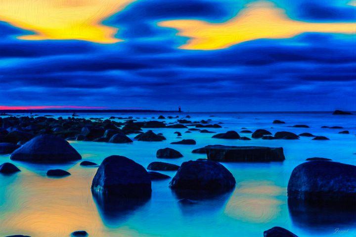Coastal Stones - Joseph Wall Art