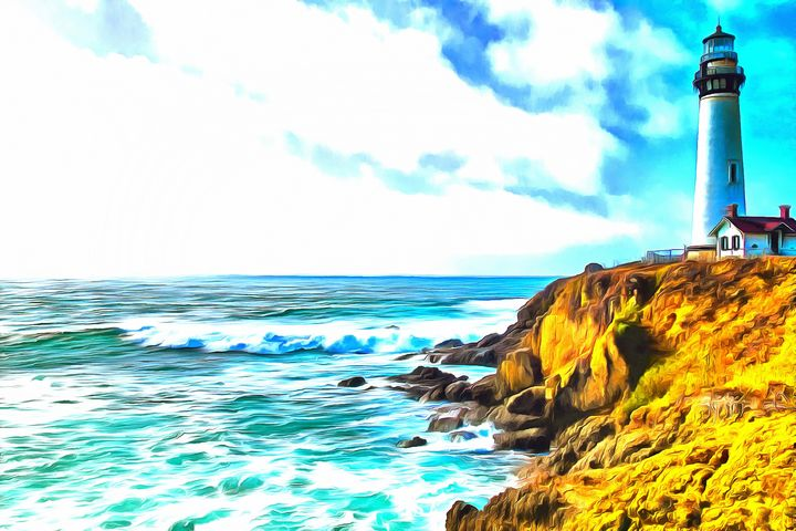 West Coast Lighthouse - Joseph Wall Art