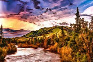 American River in Autumn