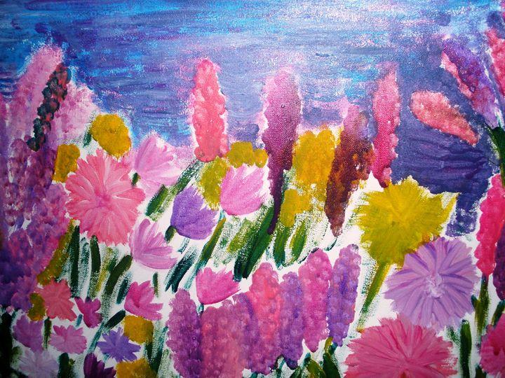 Lilac and pink - Raffaella Cantillo