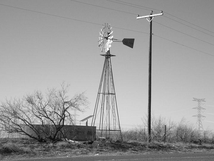West Texas Windmill 2 - R. B. Enriquez