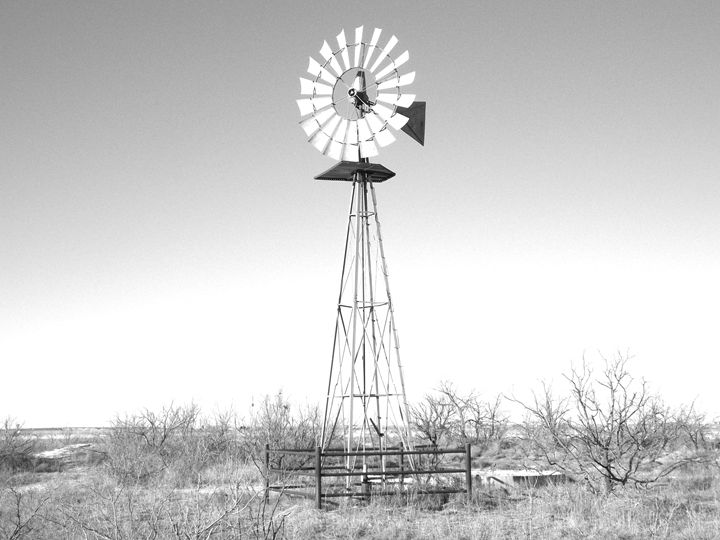Midland Texas Windmill 1 - R. B. Enriquez