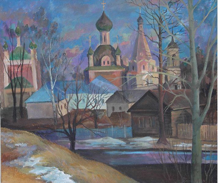 """Pereslavl Zalessky"" , 2001 - SANREGRE GALLERY"