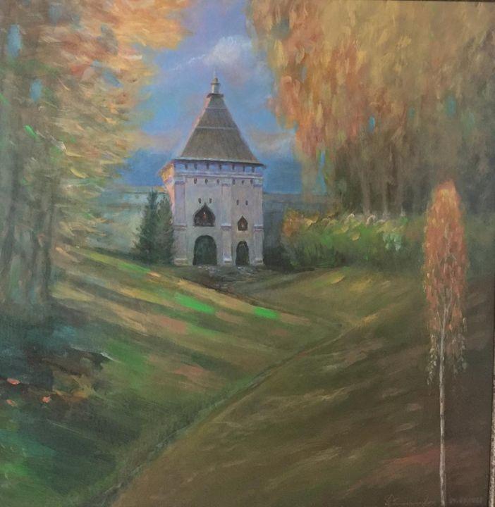 """St.Sabbas Storojevsky Monastery"" - SANREGRE GALLERY"
