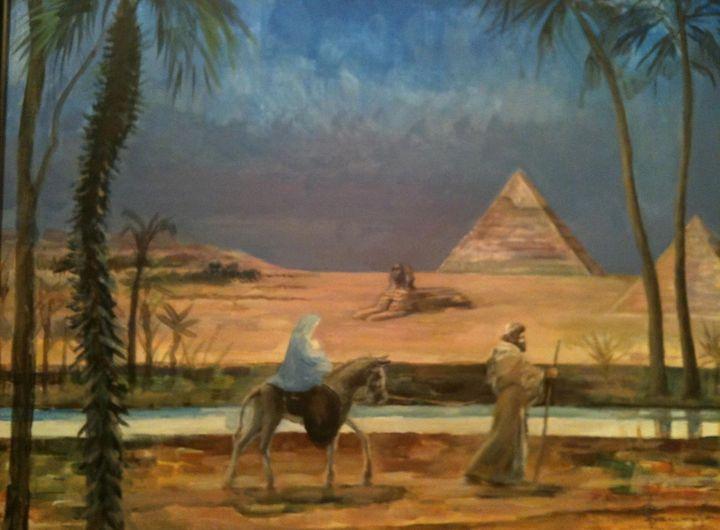 """""""Escape to Egypt"""" 2017 - SANREGRE GALLERY"""