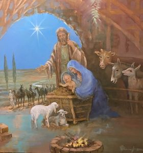 """Adoration of the lambs"",  2020"
