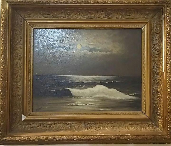 Moonlight Walker - Vintage Painting Gallery