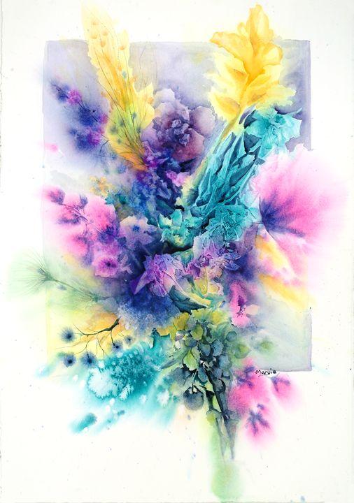 Fall Memories - Margie's art