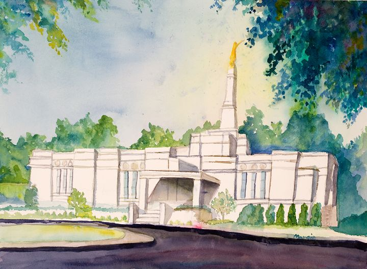 Minnesota Temple - Margie's art