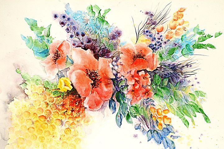 Spring contemplation - Margie's art