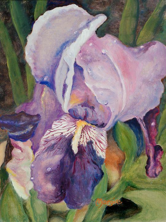 Eye the Iris - Margie's art