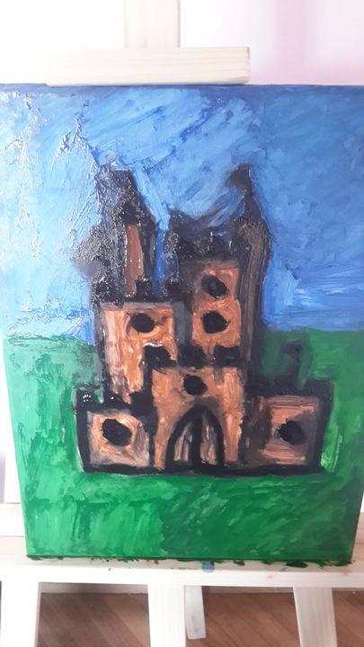castle - oil paintings