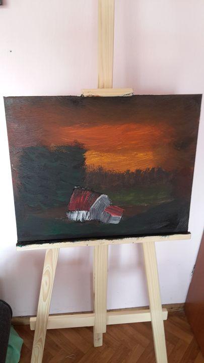 landscape - oil paintings