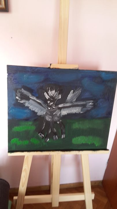pegasus - oil paintings