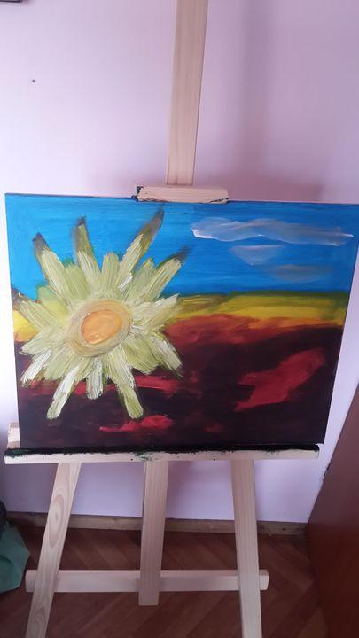 sun - oil paintings