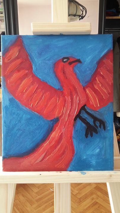 phoenix - oil paintings