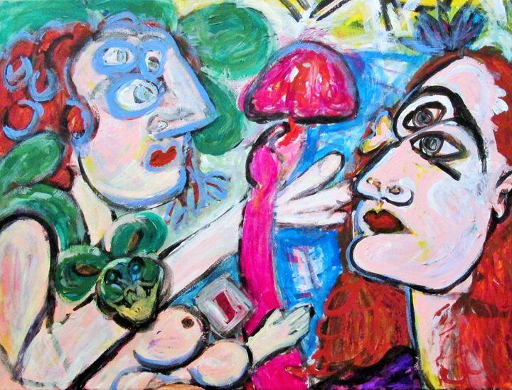 Descending Into Madness - Xavier Aquino Art