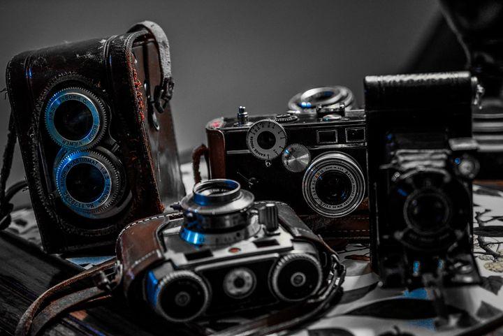 Antique Cameras - Allen Williams