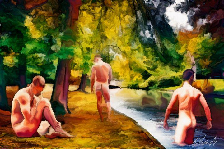 Bathers - The Essence of Man