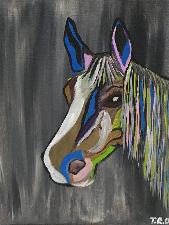 Horse head - Tanya Radeva T.R.D.
