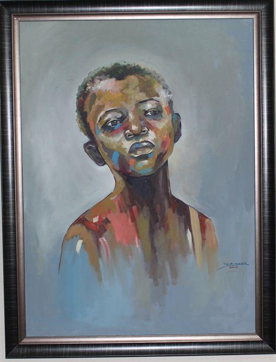 Innocent Gaze - J T Cresso Art.