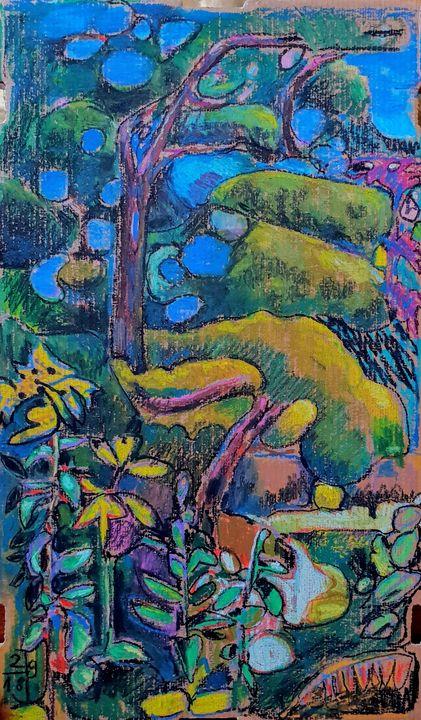 Blue Garden - Perrin Gallery