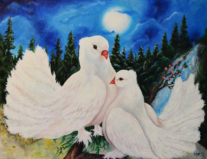 Love Under The Moon - Vijayas Wild Artland