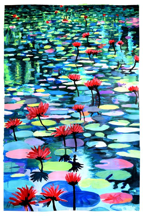 Vertical Waterscape - Prints by Geoff Greene