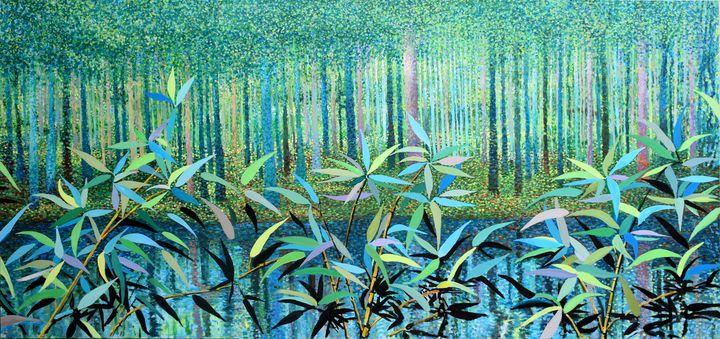 Forest Glade - Prints by Geoff Greene