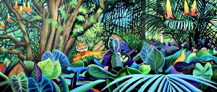 Tiger, Tiger - Prints by Geoff Greene