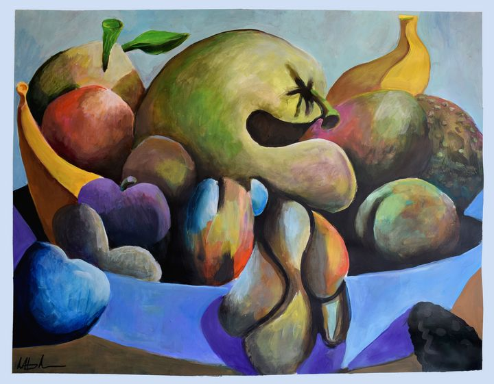Still Life with Gourds - Prints by Geoff Greene