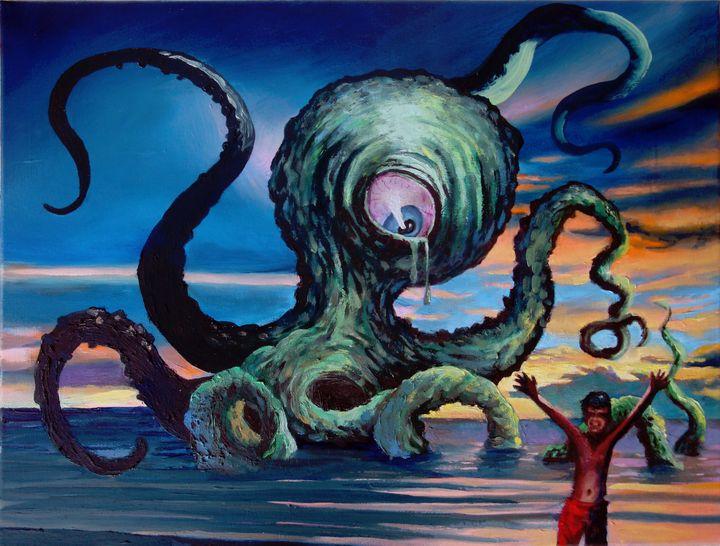 Homage to my Childhood - Prints by Geoff Greene