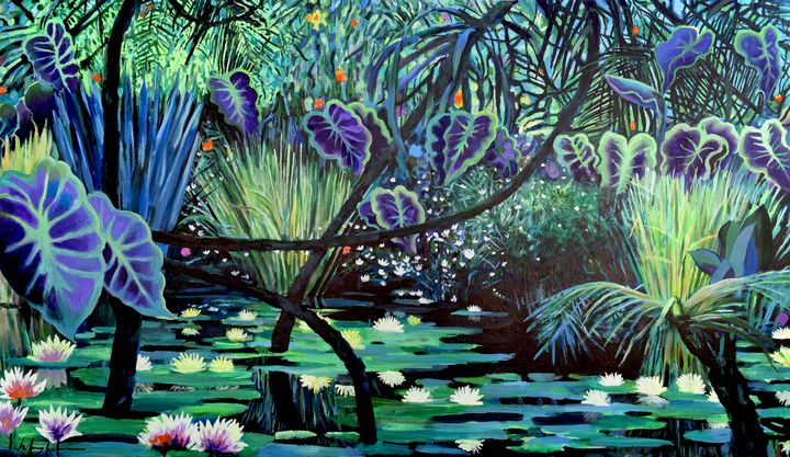 The Jungle - Prints by Geoff Greene
