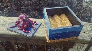 Basking Octopus Jewelry Box