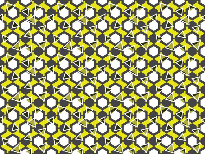 Shattered Geometric Hexagons - Paul Prevel