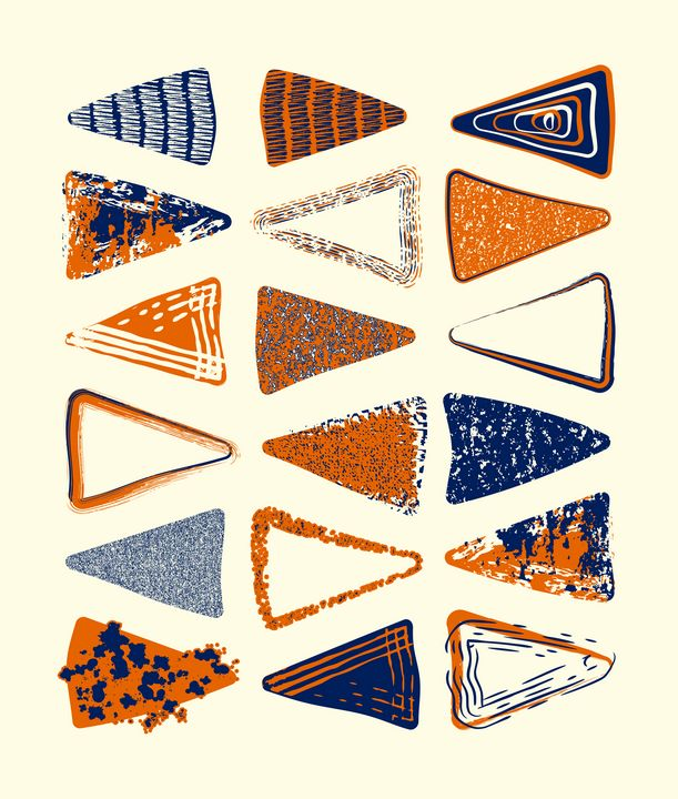 Street Cred Triangles - Paul Prevel
