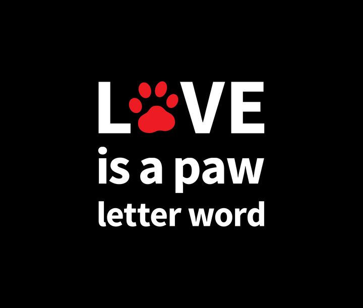 Love is a Paw Letter Word - Paul Prevel