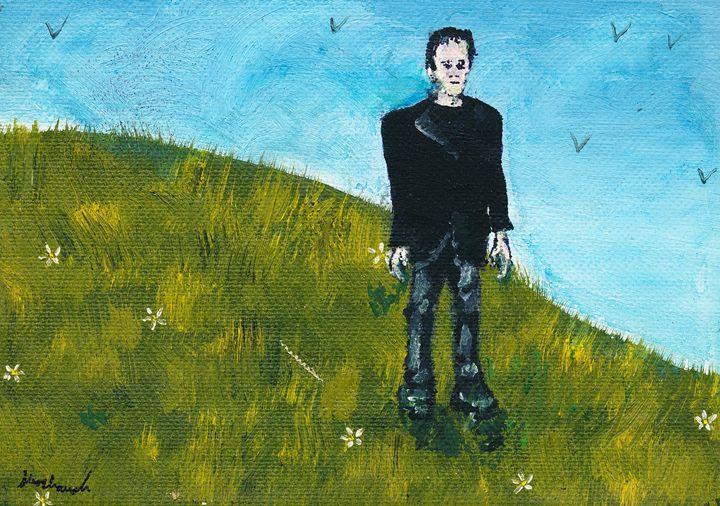 Frankenstein Painting - Shoshanah's Art