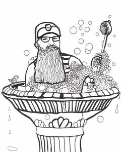 Bird Bath Beardo