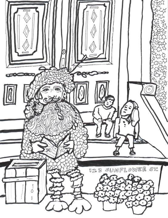 Big Beard - Shoshanah's Art