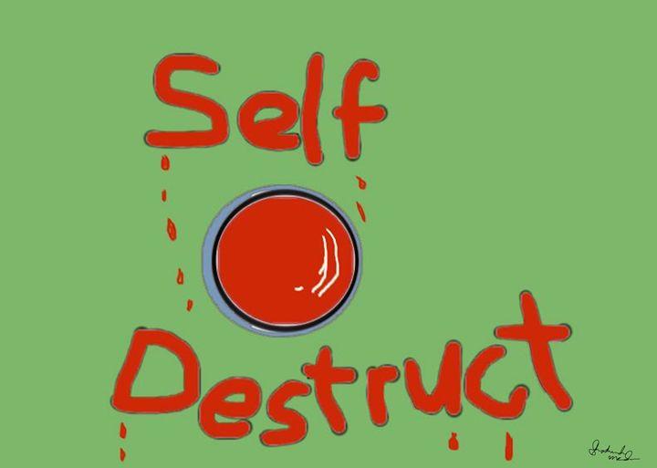 The Self Destruct Button - Shoshanah's Art