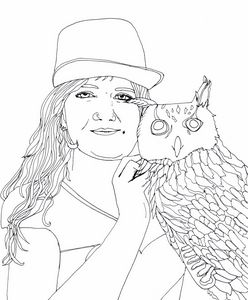 Liadan and her Owl
