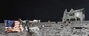 My Little Farm on the Moon - Shoshanah's Art