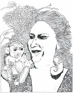 Margolet and her Monkey
