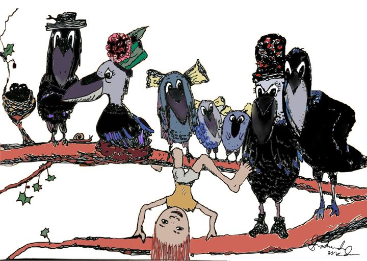 A Murder of Crows - Shoshanah's Art