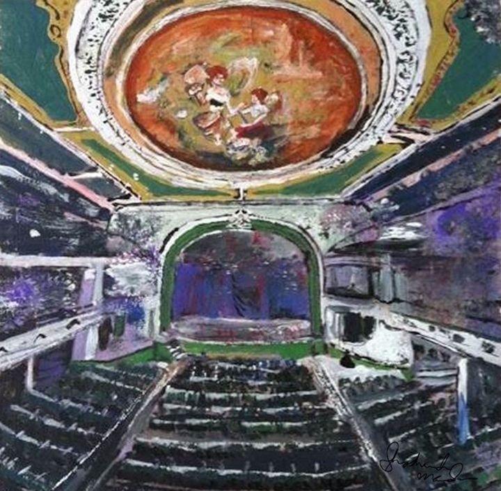 Orpheum Theater, New Bedford - Shoshanah's Art