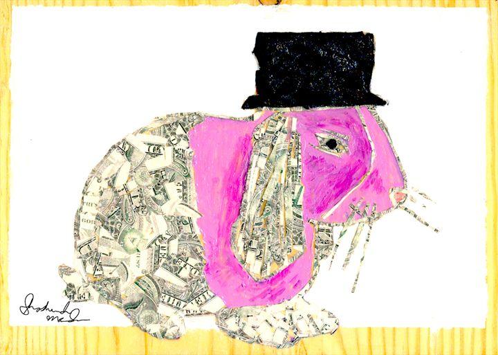 Funny Money Bunny - Shoshanah's Art