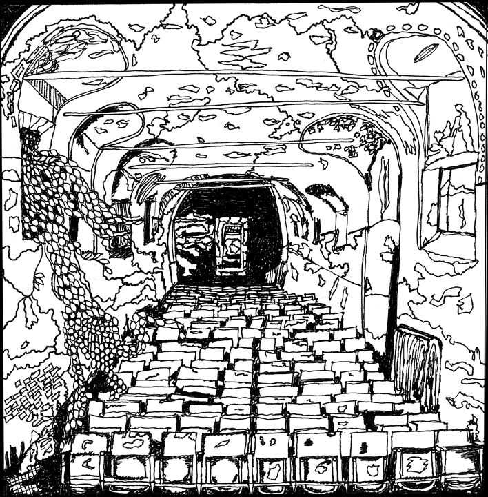 Abandoned Theatre - Shoshanah's Art